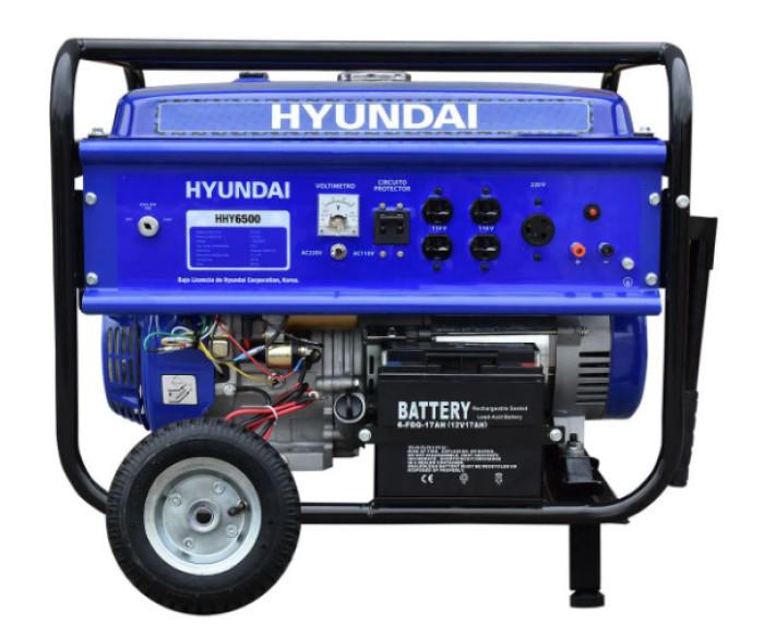 Generador Hyundai HHY6500